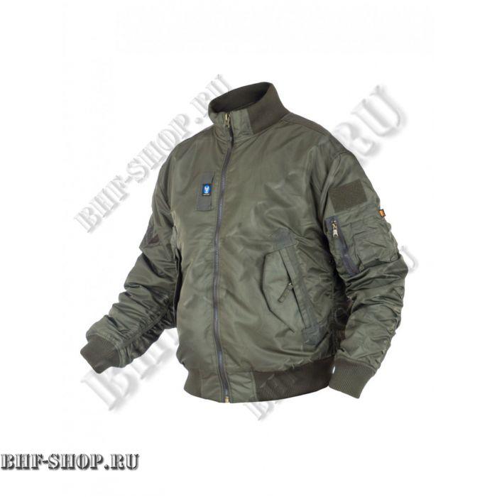 Куртка Пилот (бомбер) 7,26 Armyfans GD056A с мехом Олива