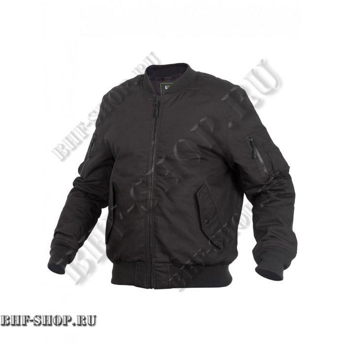 Куртка Пилот мужская утепленная (бомбер) GONGTEX Tactical Ripstop Jacket Черный