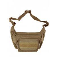 Сумка тактическая поясная/наплечная Tactical Sling Bag, 2,2 л, Койот