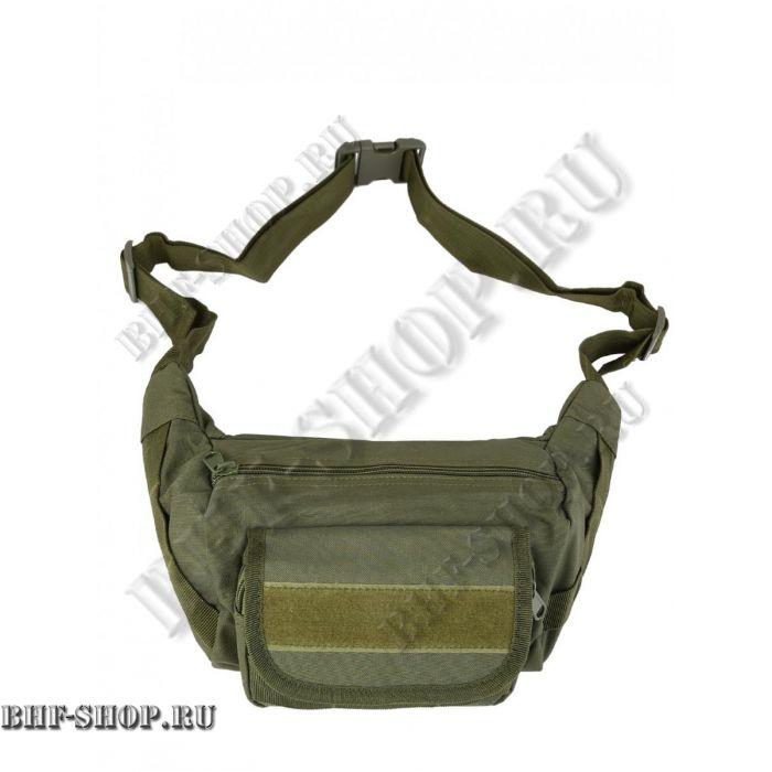 Сумка тактическая поясная/наплечная Tactical Sling Bag, 2,2 л, Олива