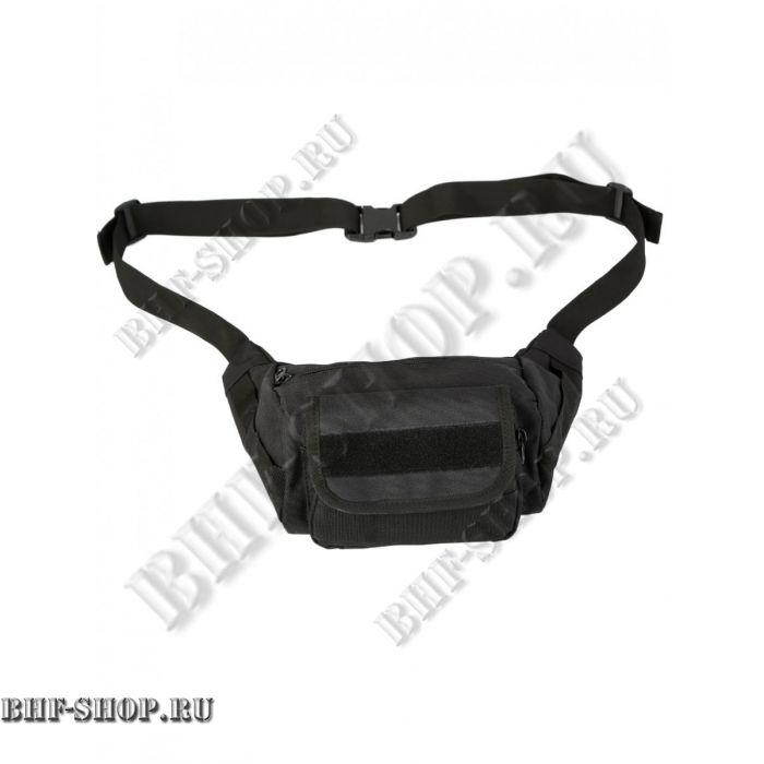 Сумка тактическая поясная/наплечная Tactical Sling Bag, 2,2 л, Черная