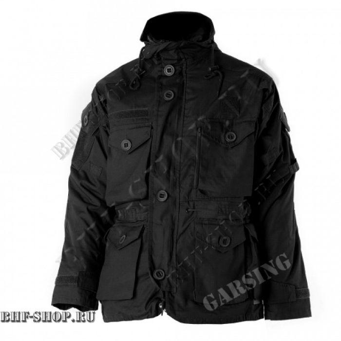 Куртка Гарсинг ГРУ Черная (Флис), GSG-10