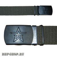 Ремень Военнослужащих брючный 30мм Хаки