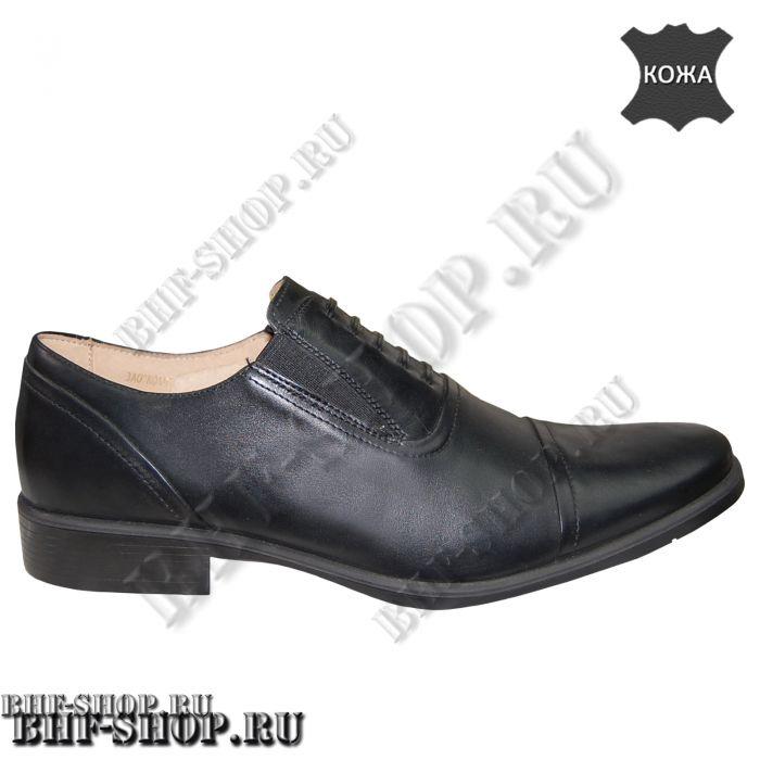 Туфли офицерские уставные с имитацией шнурка
